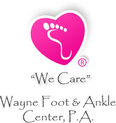 wayne foot and ankle center footer logo