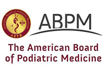american board of podiatric medicine association logo