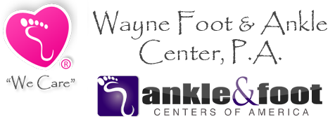 wayne foot and ankle center logo